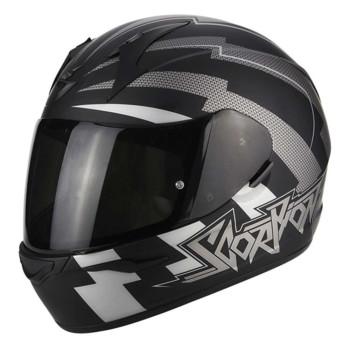 Scorpion Integraalhelm EXO-390 Patriot Matt Black/Silver