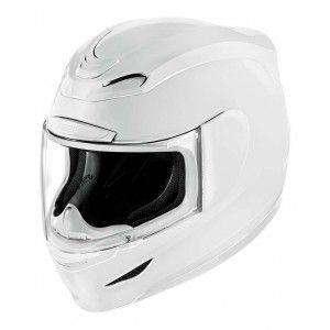 Icon Integraalhelm Airmada Gloss White