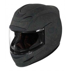 Icon Integraalhelm Airmada Chantilly Black Rubatone