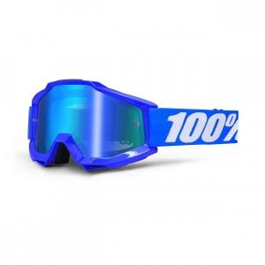 100% Crossbril Accuri Reflex Blue/Mirror Blue