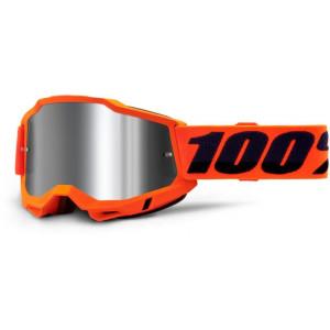 100% Crossbril Accuri 2 Orange/Mirror Silver