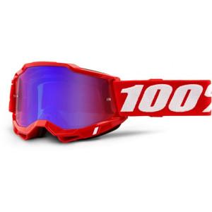 100% Crossbril Accuri 2 Red/Mirror Blue