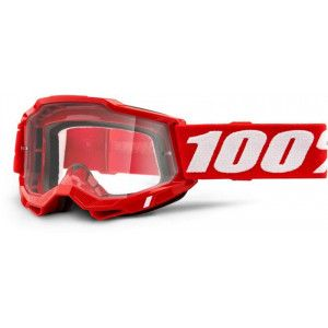 100% Crossbril Accuri 2 Rood/Clear