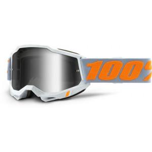 100% Crossbril Accuri 2 Speedco/Mirror Silver