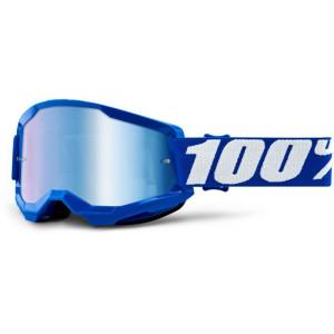 100% Crossbril Strata 2 Blue/Mirror Blue