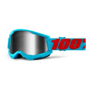 100% Crossbril Strata 2 Summit/Mirror Silver