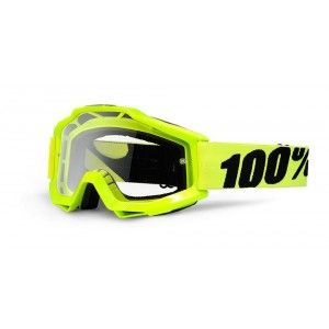 100% Crossbril Accuri Fluo Yellow/Clear