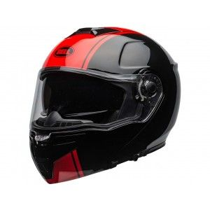 Bell SRT-Modular Systeemhelm Ribbon Gloss Black/Red