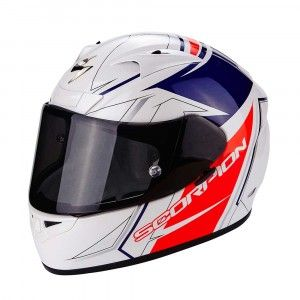 Scorpion Integraalhelm EXO-710 Air Line White/Red/Blue-XXL