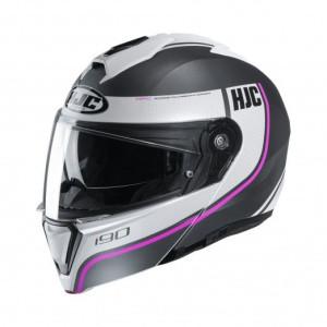 HJC Systeemhelm I90 Davan Pink/White