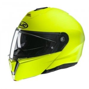 HJC Systeemhelm I90 Solid Fluor Yellow