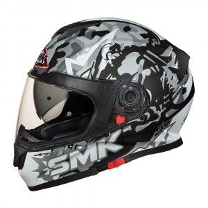 SMK Integraalhelm Twister Attack Grey