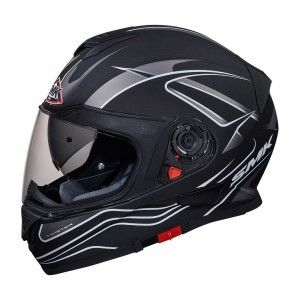 SMK Integraalhelm Twister Splash Matt Black