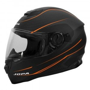 Jopa Integraalhelm Drifter Matt Black/Orange-XL