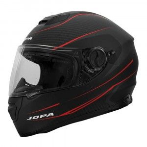 Jopa Integraalhelm Drifter Matt Black/Red-L