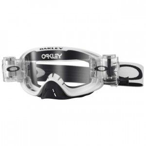 Oakley Crossbril O2 MX Race-Ready Matte White Clear