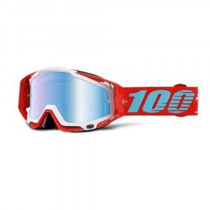 100% Crossbril Racecraft Kepler/Mirror Blue