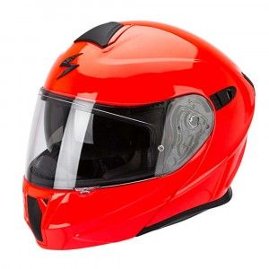 Scorpion Systeemhelm EXO-920 Solid Neon Red