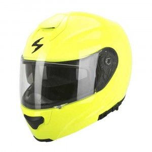 Scorpion Systeemhelm EXO-3000 Air Solid Neon Yellow