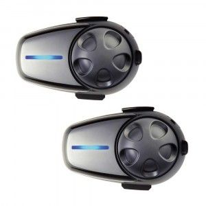 Sena Headset SMH10D-10 Bluetooth Stereo Headset/Intercom (Boom Mic) Dual (SMH10D-10)