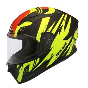 SMK Integraalhelm Stellar Trek Yellow / Red
