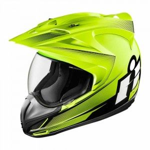 Icon Integraalhelm/Endurohelm Variant Double Stack Hi-Viz
